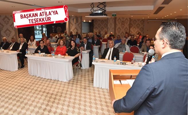 Bornova'da proje ve hizmet buluşması