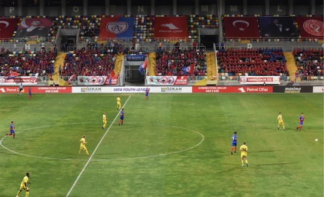 Bornova'da UEFA Gençlik Ligi heyecanı
