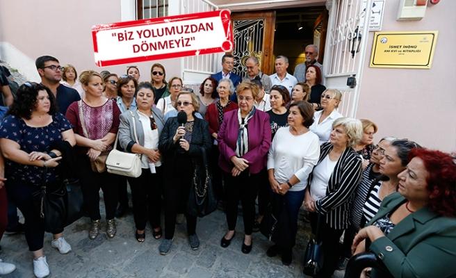 CHP İzmir'in kadınlarından 'İnönü' tepkisi