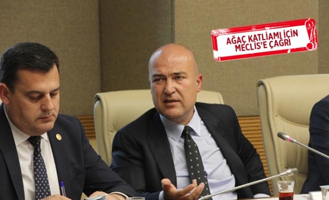 CHP'li Bakan'dan çevre komisyonuna İzmir daveti!