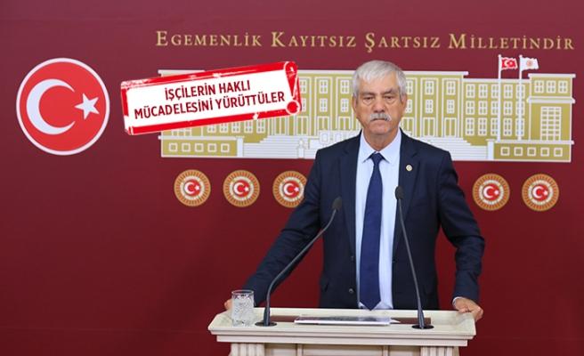 CHP'li Beko: Sendikal hak suç değil, işçiler serbest bırakılsın