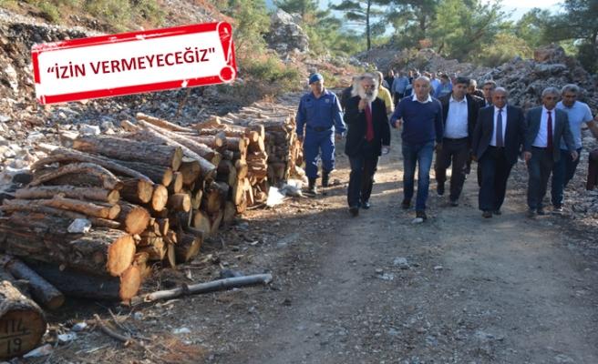 CHP'li Polat'tan Menemen'deki taş ocağına tepki
