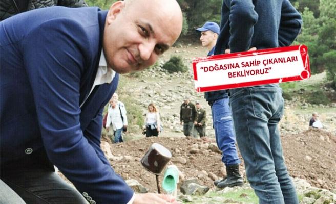 CHP'Lİ Polat'tan 'yeşil' mücadele