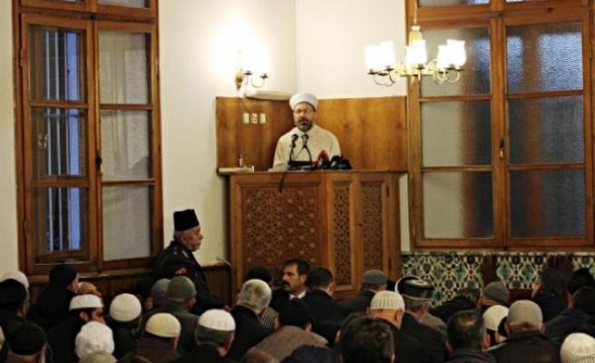 Diyanet İşleri Başkanı Ali Erbaş: Sistem faiz üzerine kurulmuş