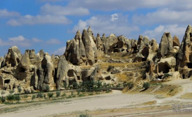 Dünya mirası Göreme Milli Parkı betona boğdular