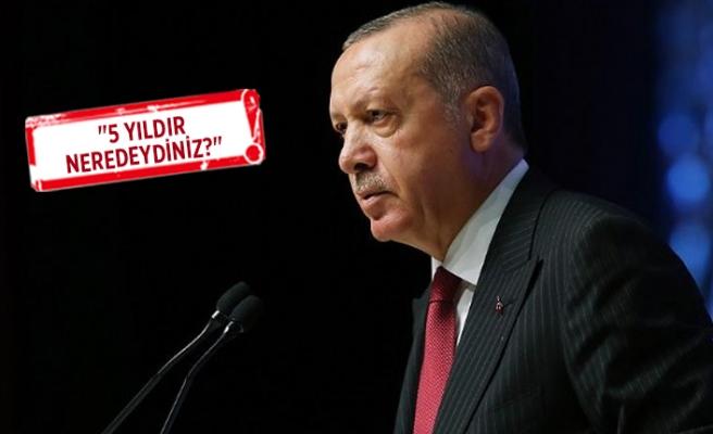 Erdoğan'dan Danıştay'a İzmir Limanı tepkisi!