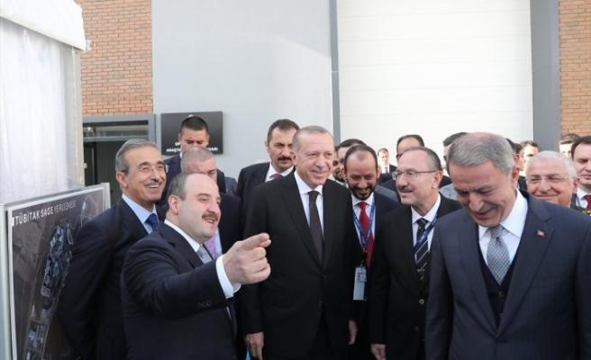 Erdoğan milli savunma sistemi SİPER'in müjdesini verdi