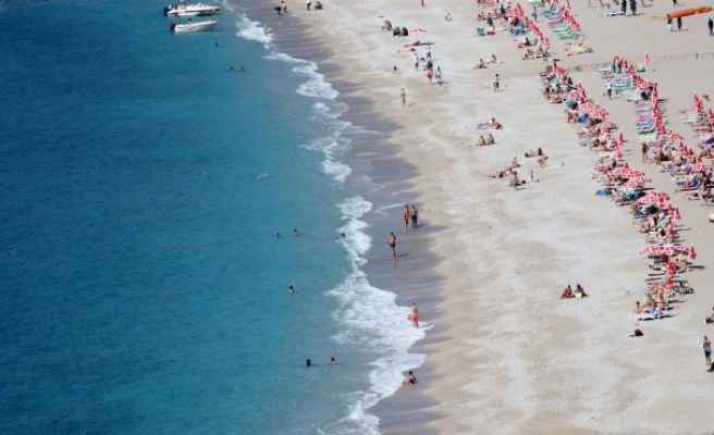 Fethiye'de Ekim sonunda deniz keyfi