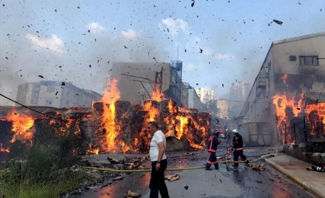 İstanbul'da fabrikalar yanıyor!