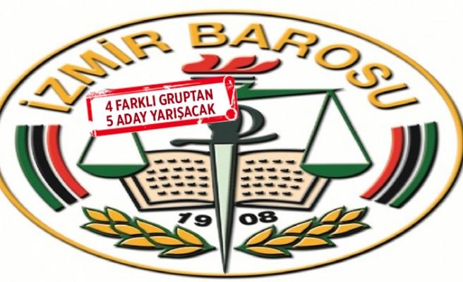 İzmir Barosu'nda seçime geri sayım!
