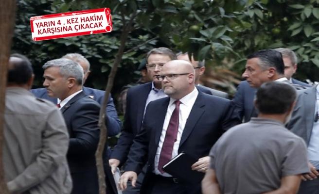 İzmir'de Brunson'a kritik duruşma öncesi kritik ziyaret!
