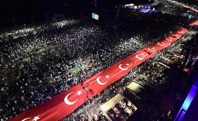 İzmir'de Cumhuriyet coşkusu!