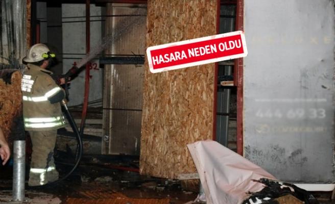 İzmir'de gece yarısı korkutan yangın!
