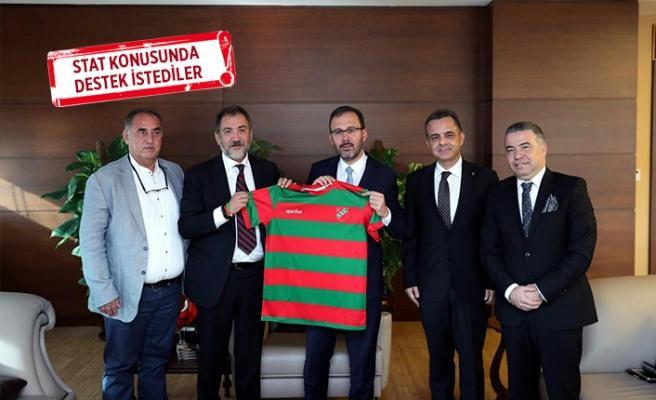 Karşıyaka'dan Bakan Kasapoğlu'na ziyaret
