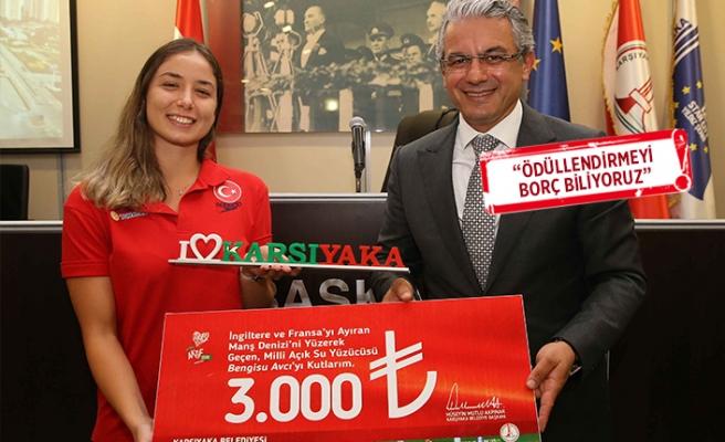 Karşıyaka'nın başarılı sporcularına ödül!