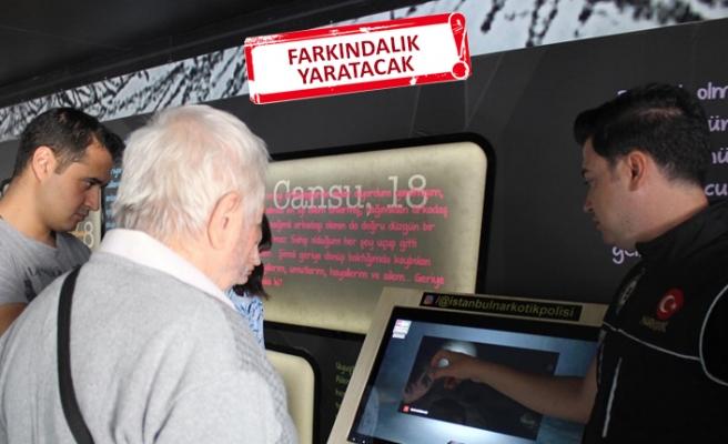 Narkotik Eğitim TIR'ı İzmir'de