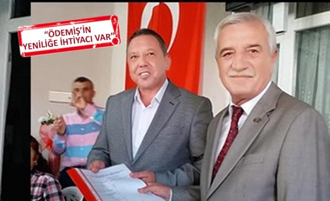 Ödemiş'in CHP'li eski başkanı aday adaylığını açıkladı