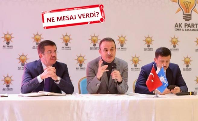 AK Parti İzmir adayı Zeybekçi, teşkilatla bir araya geldi