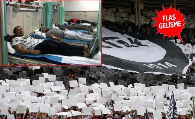 Asırlık kulübün futbolcuları hastaneye kaldırıldı!