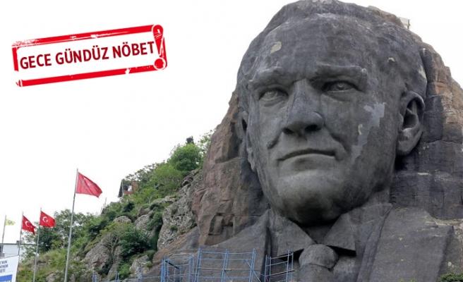 'Atatürk maskı' adına yakışır hale geldi!