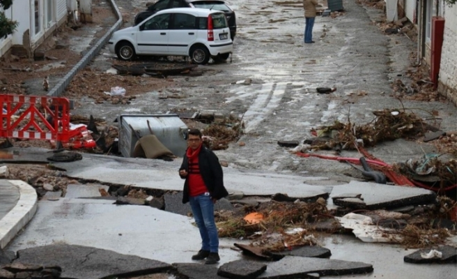 Bodrum'da anonsla sel uyarısı