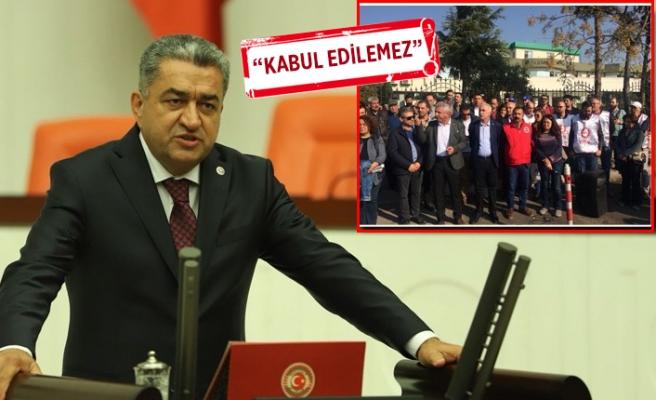 CHP'li Serter'den TARİŞ işçilerine destek!
