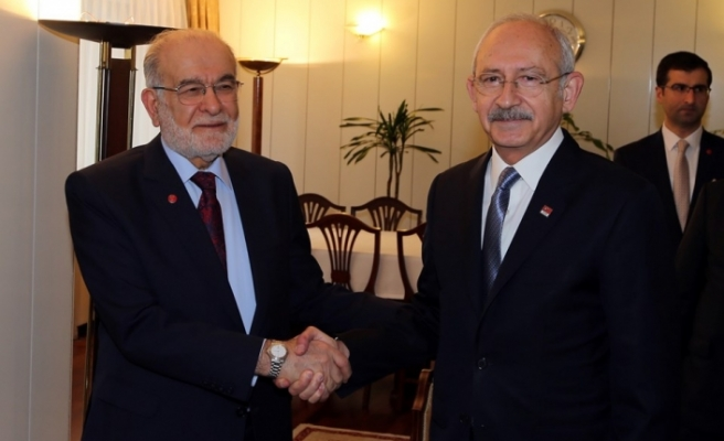CHP ve SP liderlerinden ittifak zirvesi