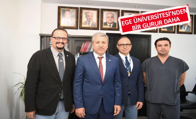 Ege Üniversitesi bir kez daha uluslararası arenada