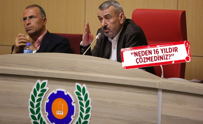 Gaziemir'de Sarnıç 2B sorunu: Başkan Şenol sert çıktı