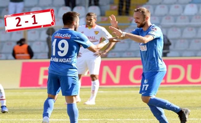 Göztepe, Erzurum'da puan çıkaramadı!