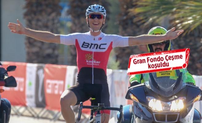 Gran Fondo Çeşme koşuldu