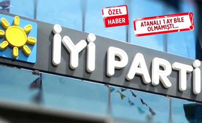 İYİ Parti İzmir'de flaş ayrılık!