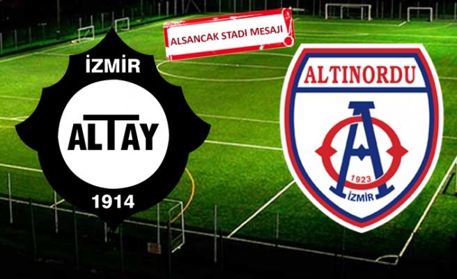 İzmir'de derbi heyecanı!