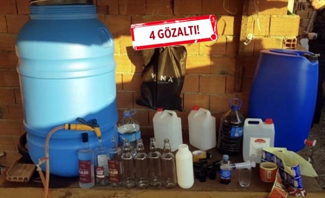 İzmir'de sahte içki operasyon!