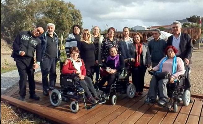 İzmir Engelli Meclisleri Birliği, Foça'da toplandı