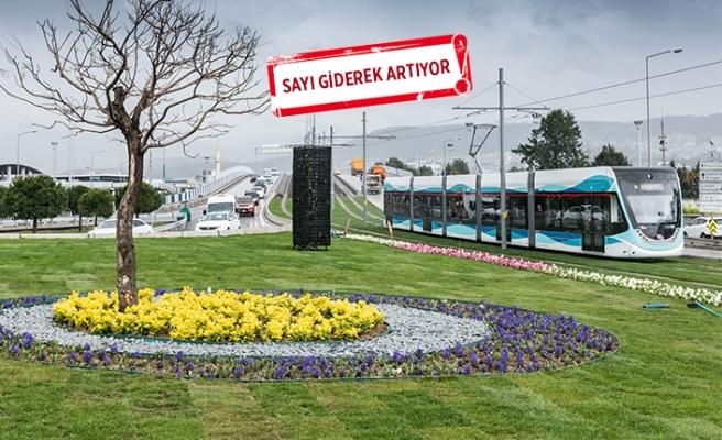 İzmir Tramvayı'nda taşıma' raporu:  21 milyonu aştı