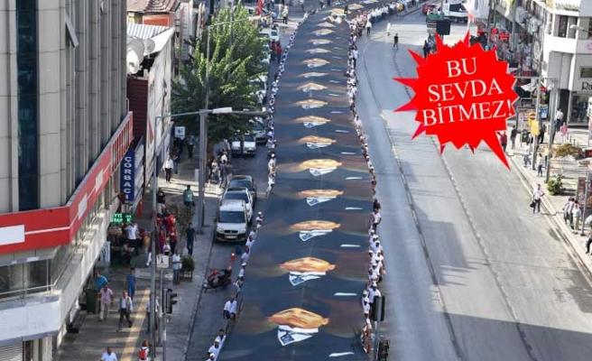 İzmirliler Ata'ya saygı için 11. kez yürüyecek