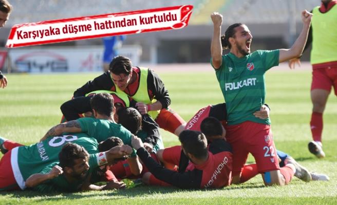 Karşıyaka 3 puanı 1 golle aldı!