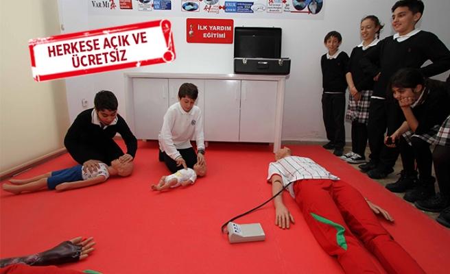 Karşıyaka'da hayat kurtaran eğitim