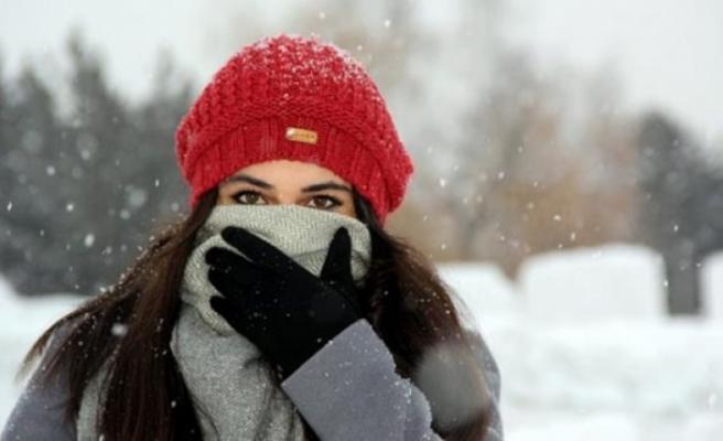 Kışın dışarı çıkarken yüz atkıyla örtülmeli