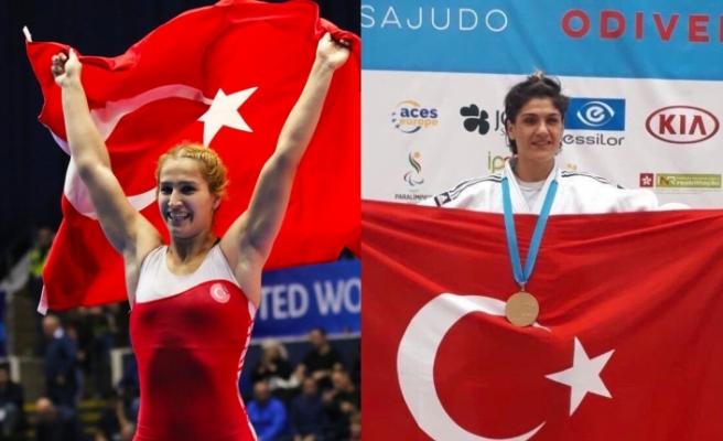 Milli Sporcularımız Zeynep Çelik ve Buse Tosun Kendi Dallarında Dünya Şampiyonu Oldular