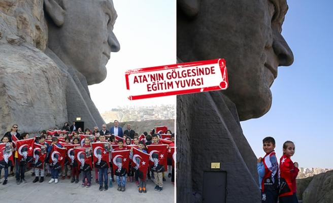 Öğrenciler tarihlerini 'Atatürk Eğitim Atölyesi'nde öğreniyor!