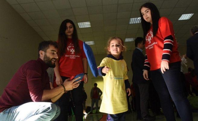 Özel olimpiyatlar Türkiye minik sporcular projesi
