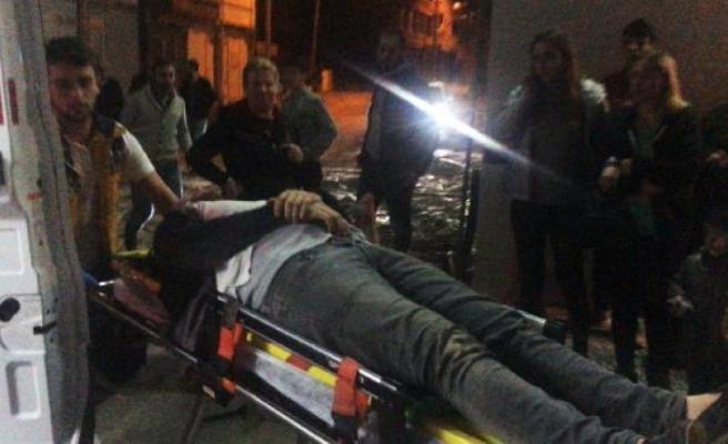 Taksicilerin 'patinaj' kavgasında kan döküldü