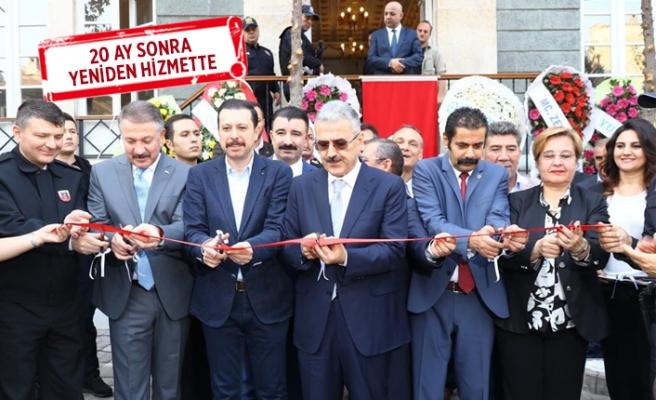 Tarihi Basmane Polis Merkezi binası yeniden hizmete açıldı