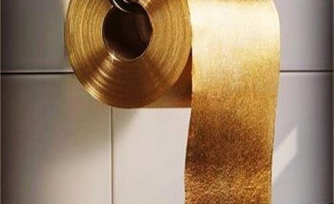 Tuvalet kağıdına 'kriz' ayarı