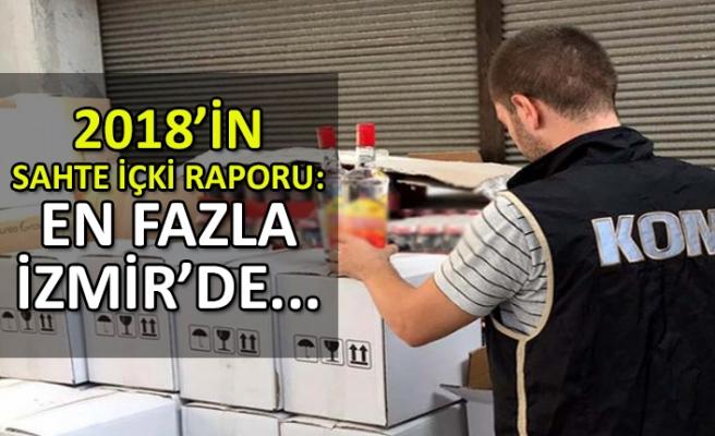 2018'de en fazla sahte içki, kaçak tütün ve cep telefonu İzmir'de ele geçirildi