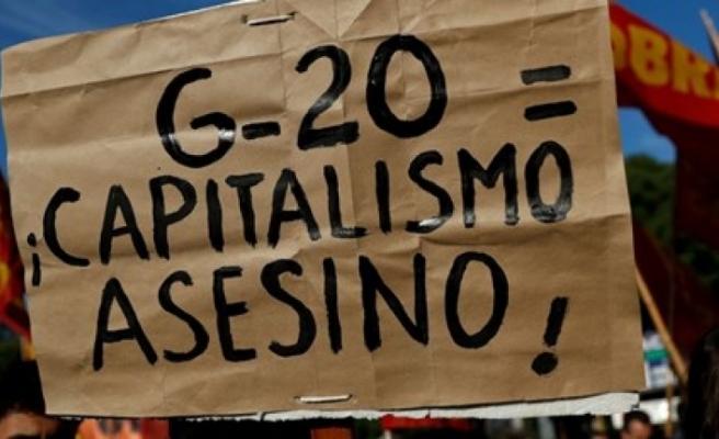 Arjantin'de G-20 karşıtları eylem yaptı