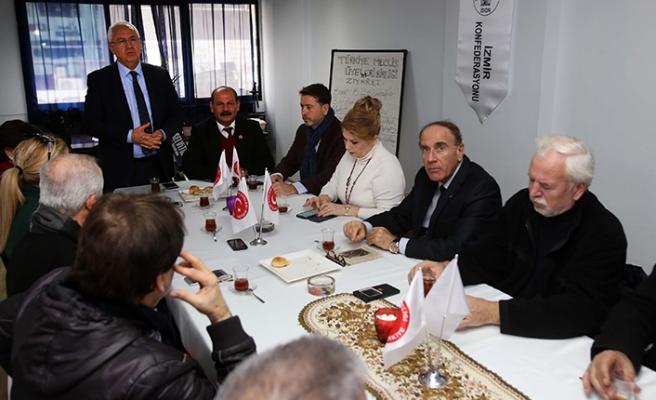 Başkan Selvitopu, Meclis Üyeleri Birliği'ne konuk oldu