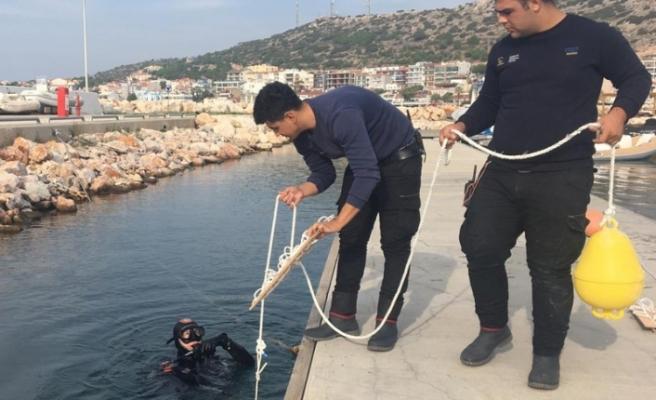 Çeşme Marina'dan 'Kalamar Projesine' destek